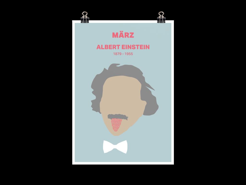 Menschen der Geschichte Albert Einstein