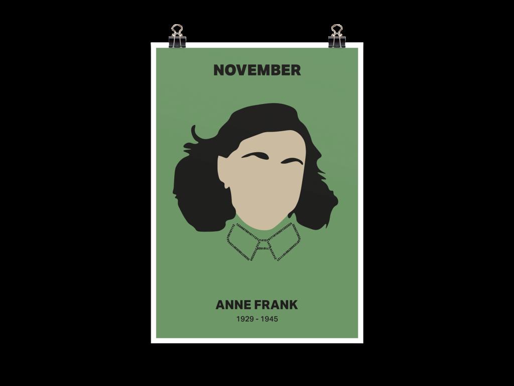 Menschen der Geschichte Anne Frank