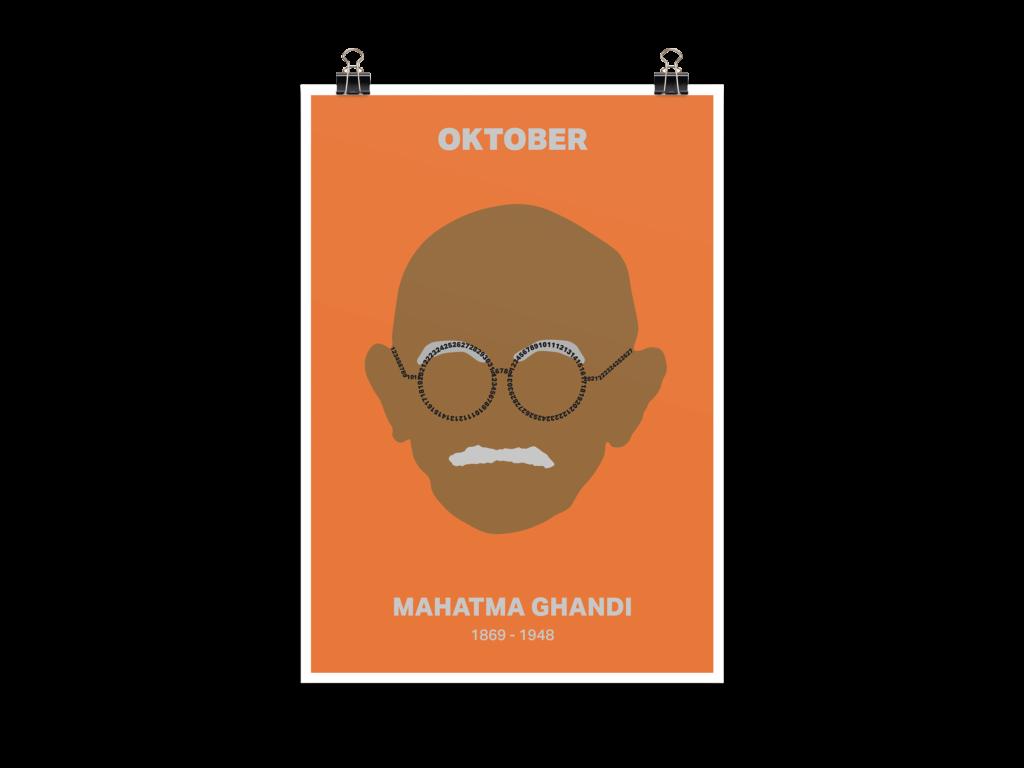 Menschen der Geschichte Mahatma Ghandi