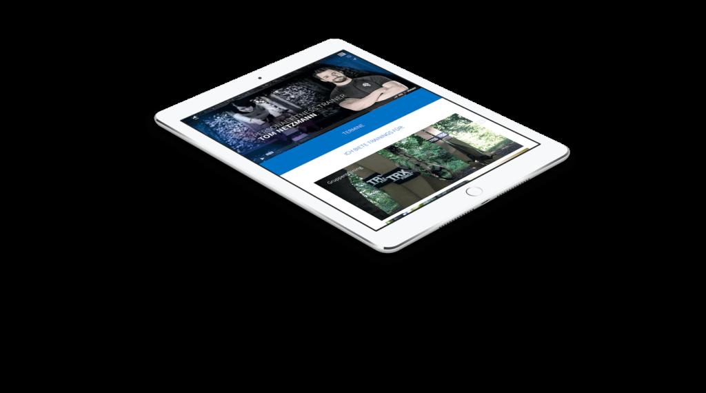 Tom Netzmann Webseite Ipad