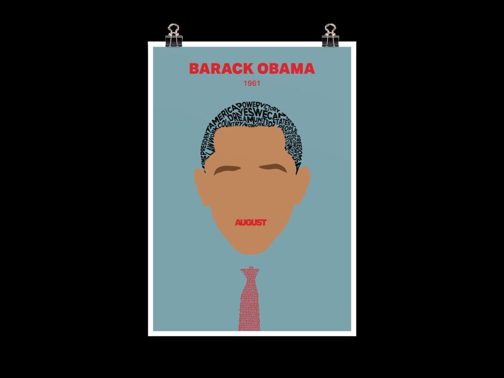 Menschen der Geschichte Barack Obama