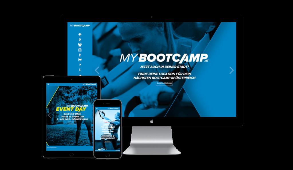 MyBootcamp auf verschiedenen Geräten