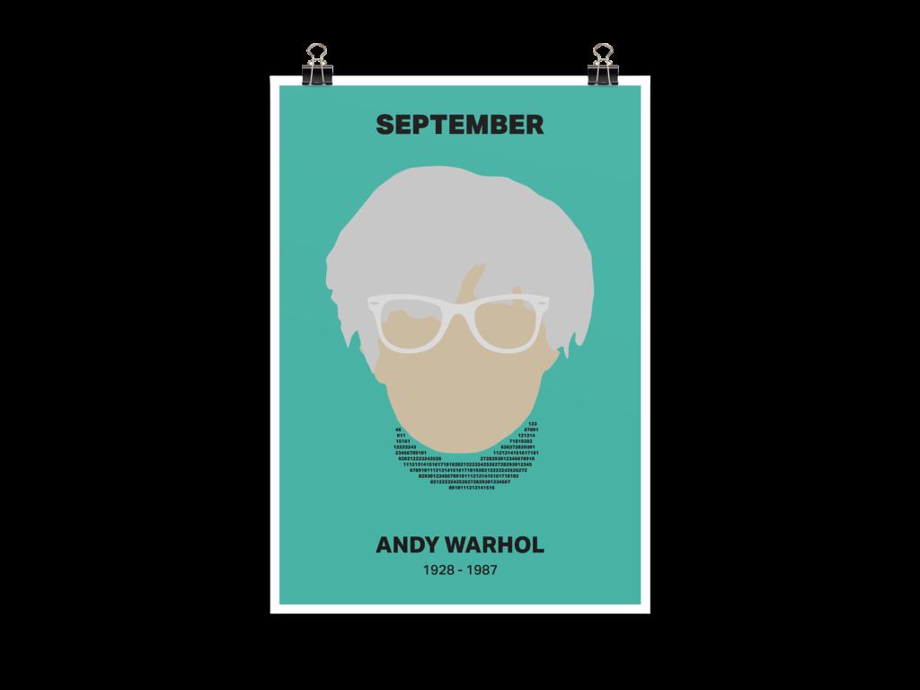 Menschen der Geschichte Andy Warhol